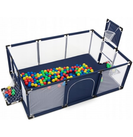 CHILDREN'S PLAY DRY SWIMMING POOL BASKET GATES BALLS 100