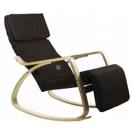 STYLISH ROCKING CHAIR, COMFORTABLE UP TO 120KG