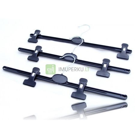 CLAMP HANGERS FROGS ON PANTS SKIRTS 10 PCS