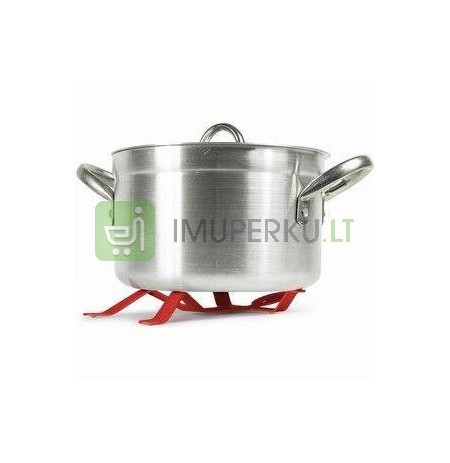 Hot man pot holder red