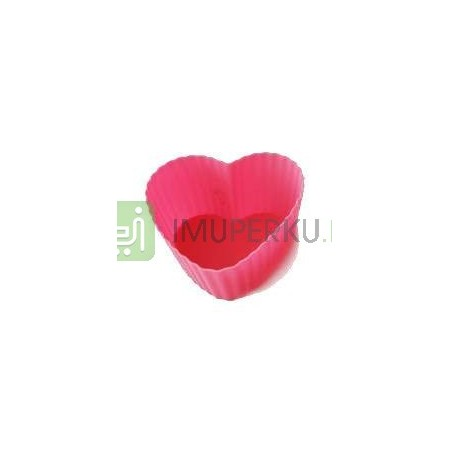 Heart shaped muffin mould (6pcs)