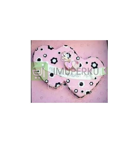 Two hearts mould