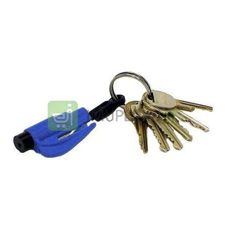 Resque keychain blue