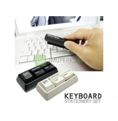 Keyboard stationary set - black