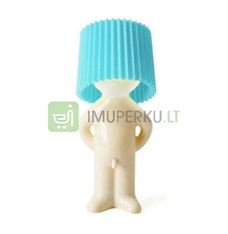 Rude lamp - blue