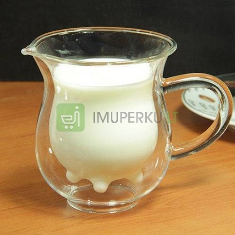 Milk Cow Glass Cup (Creamer)