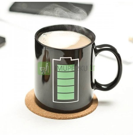 Color changing mug BATTERY
