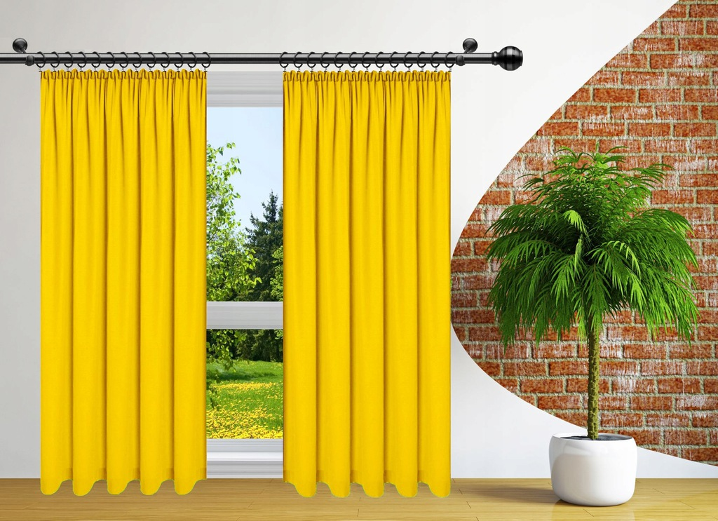 READY CURTAINS FOR FROGS 140x250 CURTAIN ON TAPE