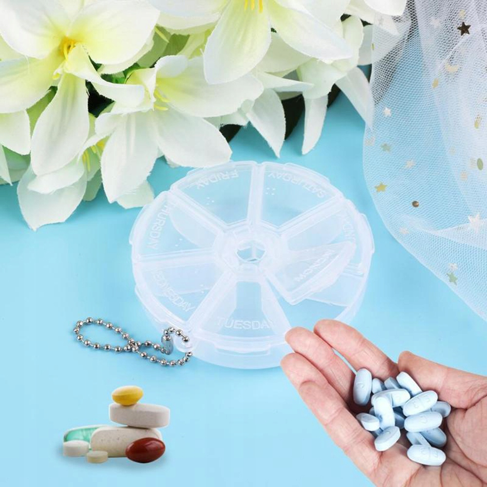 CASSETTE FOR DRUGS TABLETS Organizer Container 7 DAYS