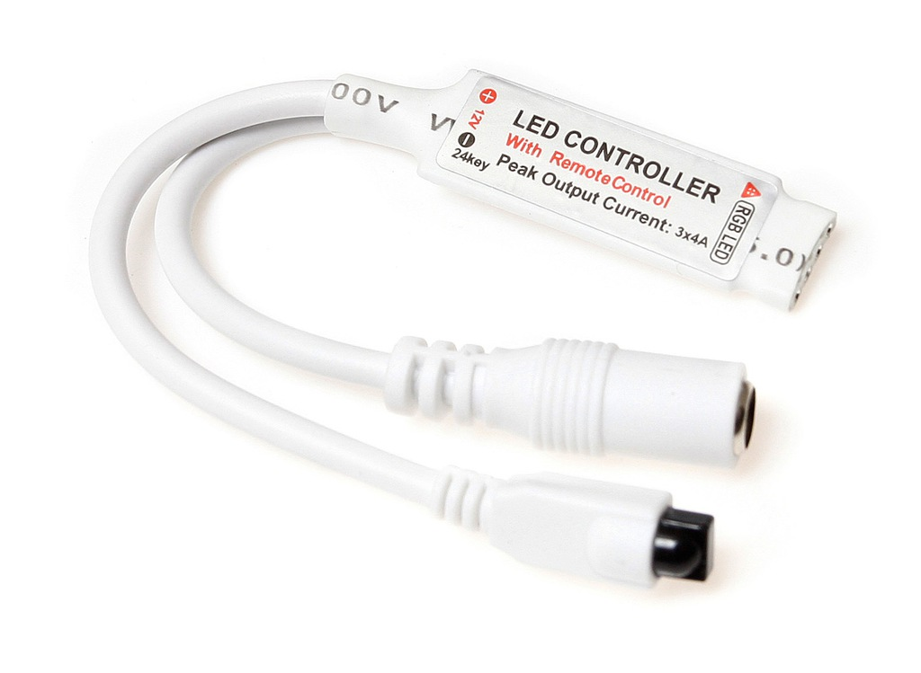 IR-RGB-24 CONTROLLER FOR RGB LED STRIPS | CONTROLLER