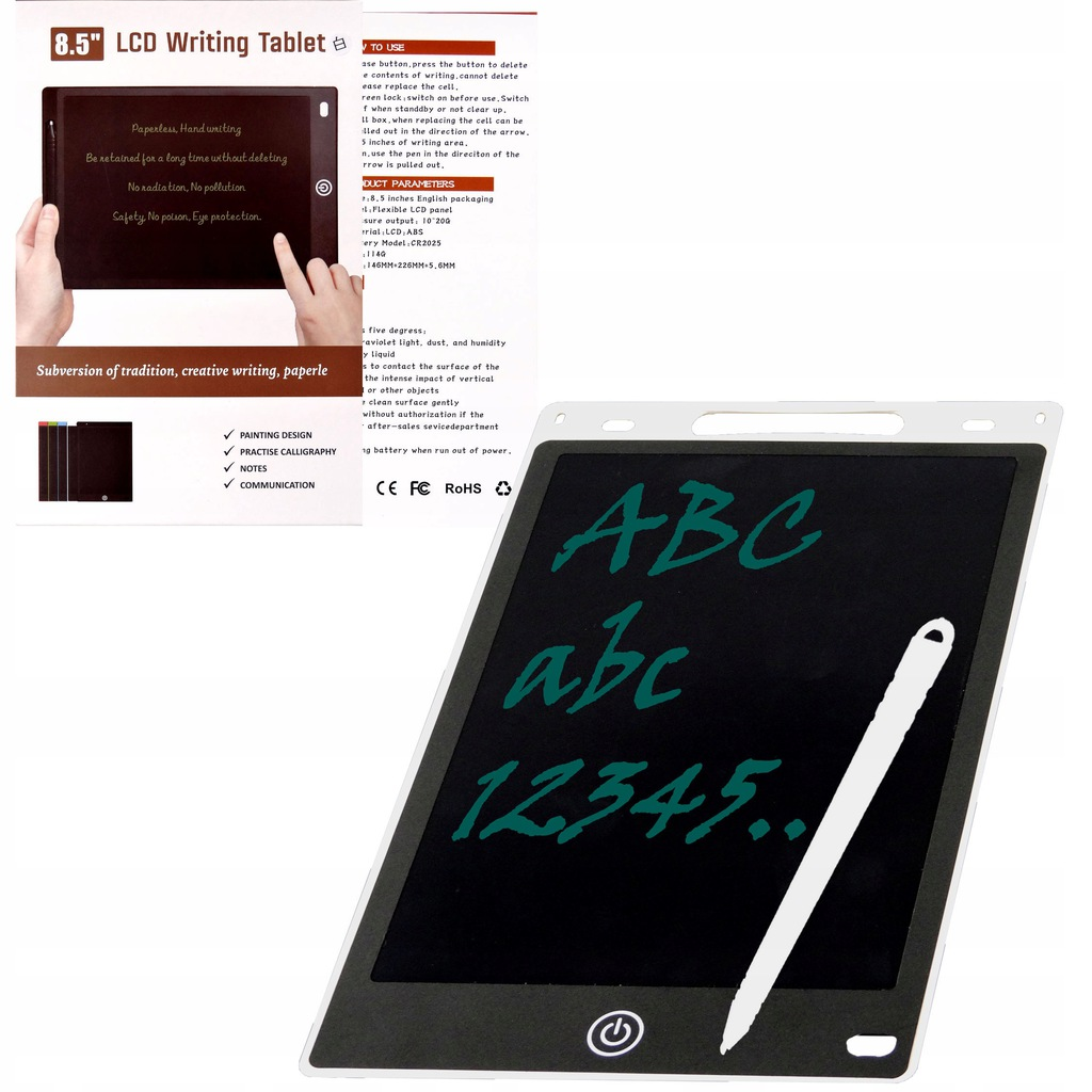 GRAPHIC DRAWING TABLET FOR CHILDREN + DRAWING