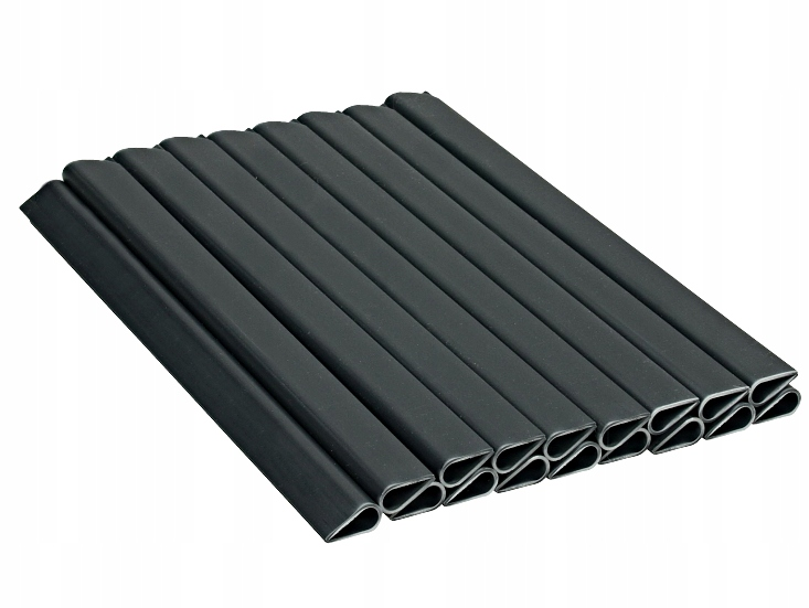 20x CLIPS FOR FENCE TAPE FENCE GRAPHITE
