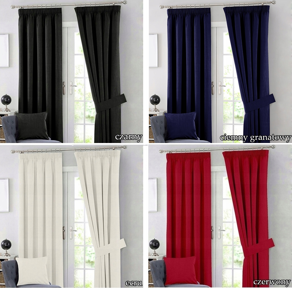 READY THICK CURTAINS FOR FROGS 140x250 ON TAPE