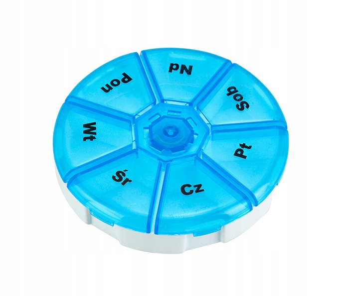 CASSETTE FOR MEDICINES TABLETS CONTAINER ORGANIZER 7 DAYS