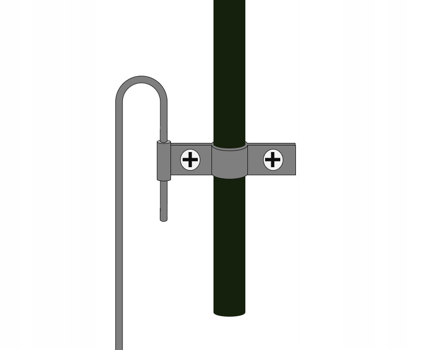 4x ANCHOR FOR MOUNTING FLOWER PERGOLES