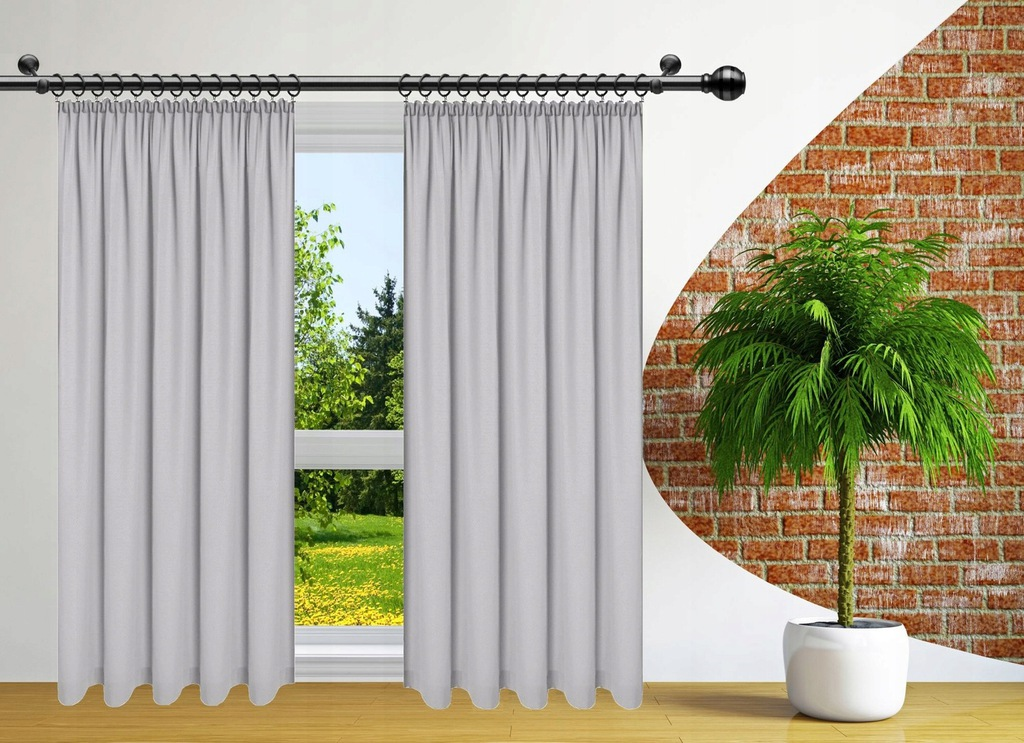 READY CURTAINS FOR FROGS 140x160 CURTAIN ON TAPE
