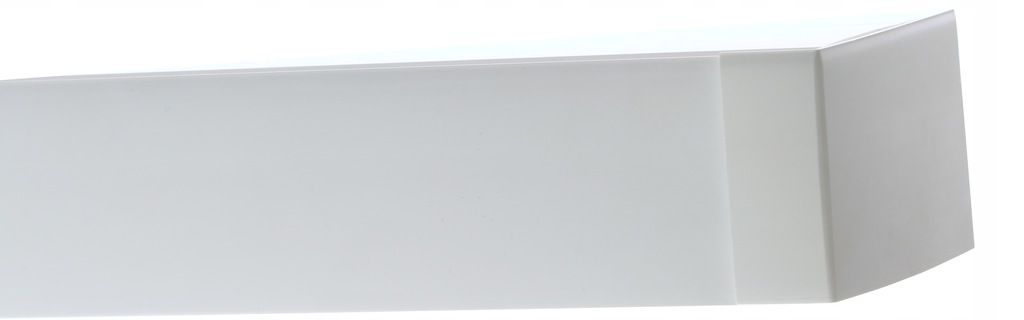 PVC CEILING RAIL WITH CURTAIN COVER 200 CM COLORS