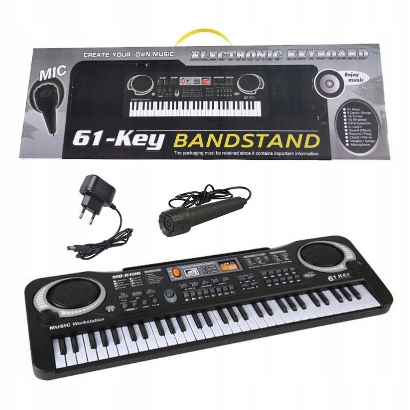 KEYBOARD ORGAN PIANO + microphone for children