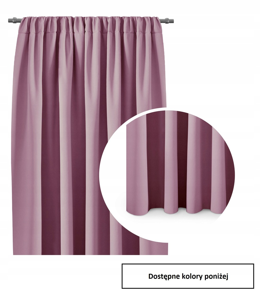 Blackout curtains Ready-made Tape 140x245 COLORS