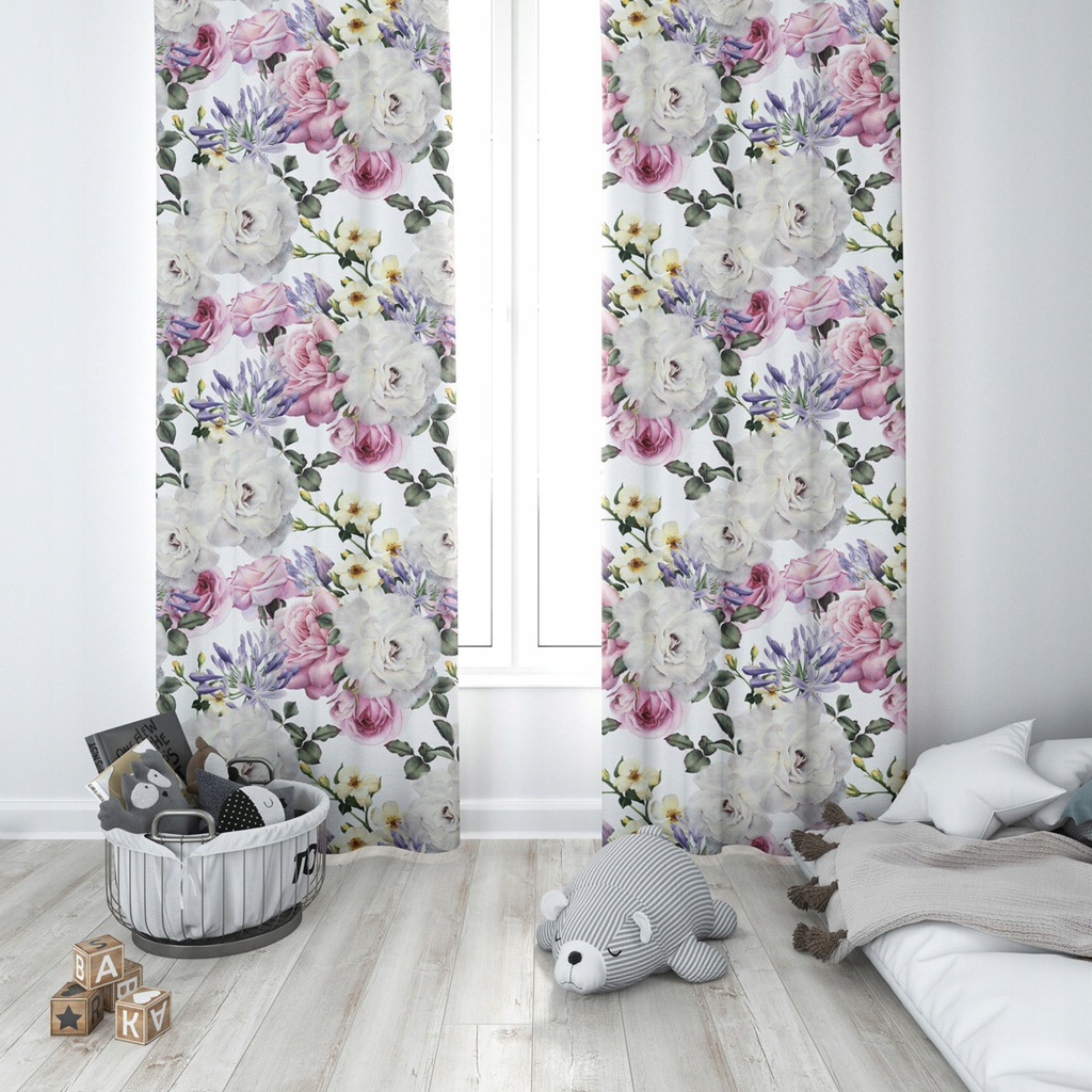 Ready Curtain With Grommets 140x250 D404-118