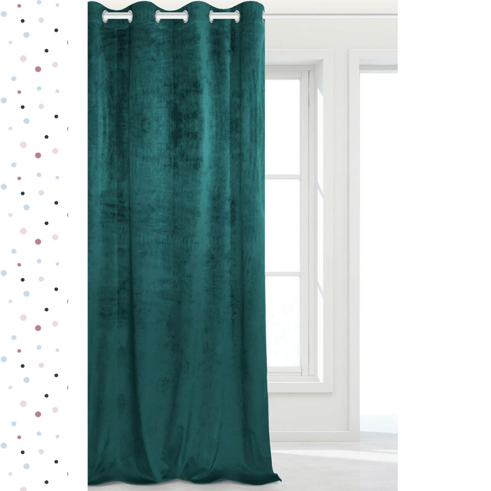 VELVET BLACKING VELVET CURTAIN 140X250 SOFT
