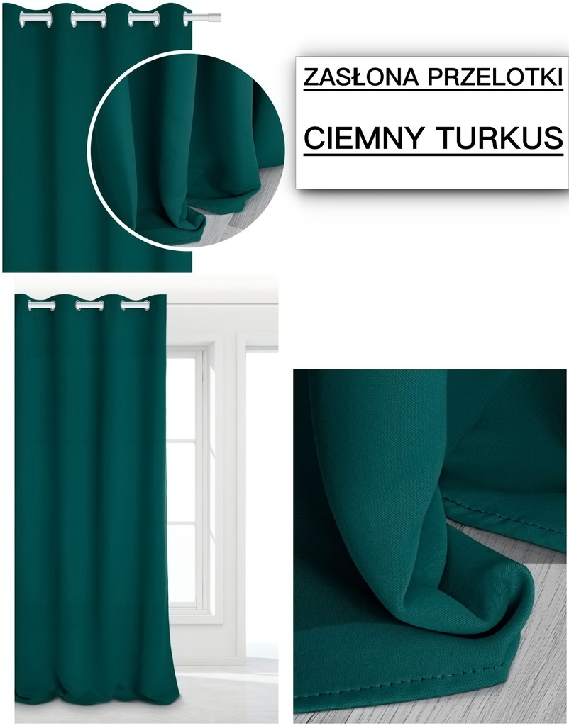 READY BLACKOUT BLINDS THICK GROMMET WHEELS