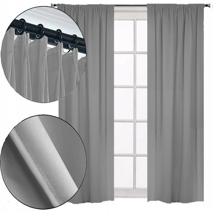 READY CURTAINS FOR FROGS 140x250 ON MATTE TAPE