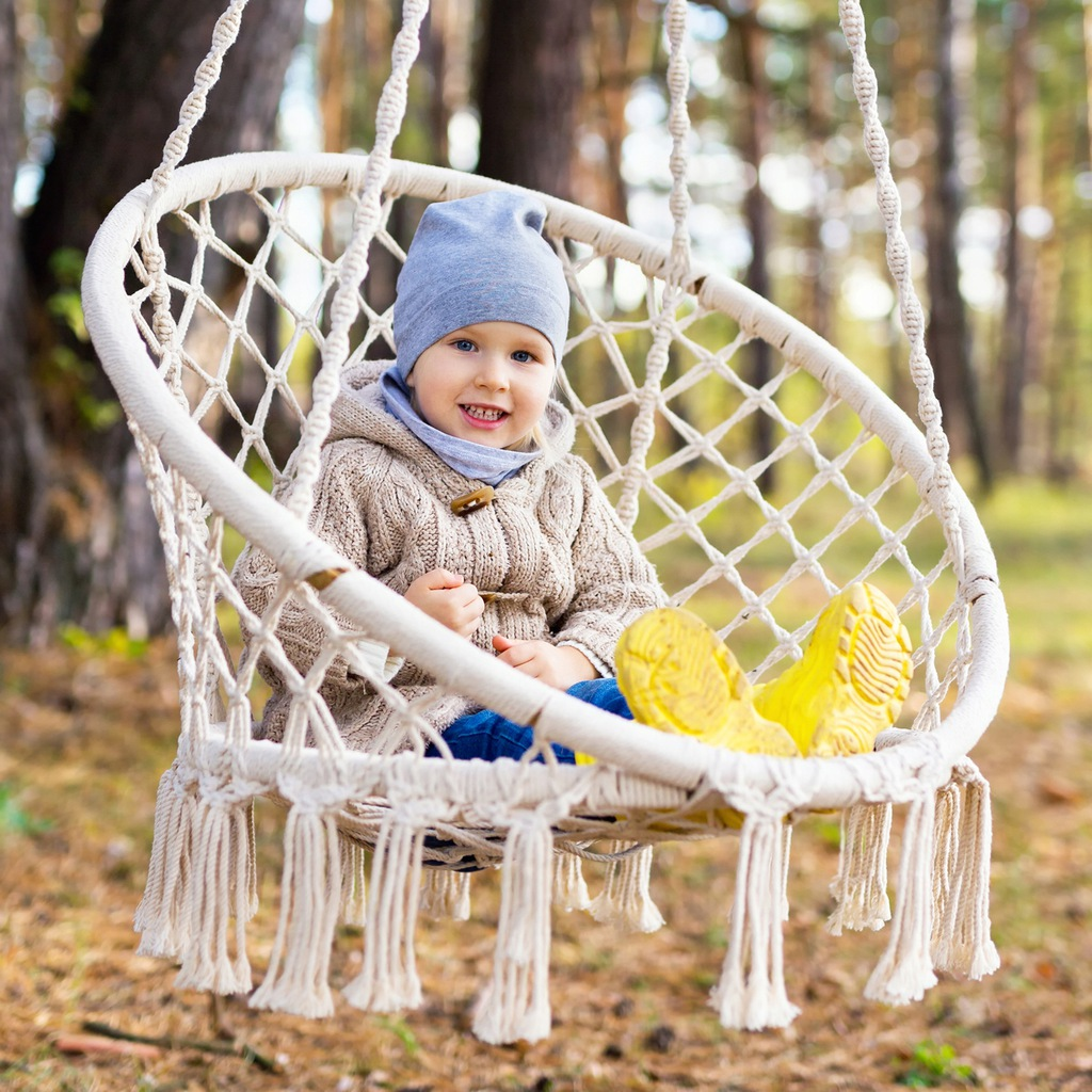 LARGE nest swing HANGING CHAIR 80cm