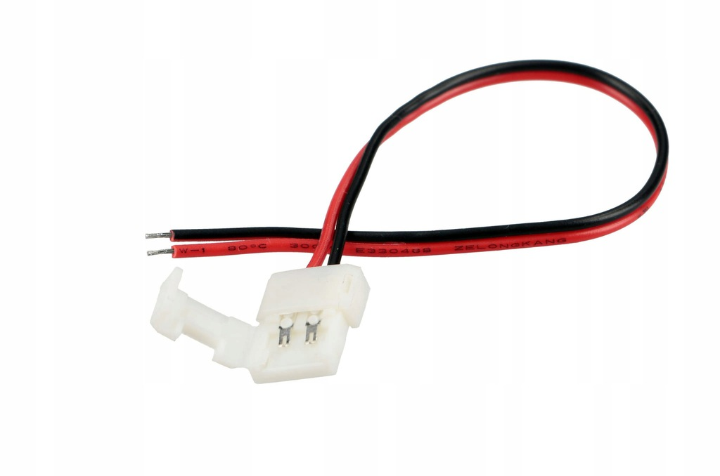 Connector for 8mm LED strips with cable TAPE + POWER SUPPLY