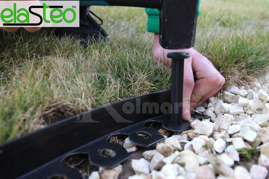 PALISADE curb for lawn grass 20m +60 ANCHORS